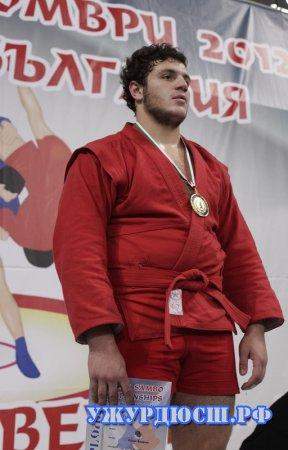 Паруйр Саакян стал чемпионом первенства мира по самбо