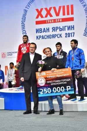 XXVIII Международный турнир по вольной и женской борьбе Гран-При «Иван Ярыгин»