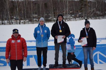 Бронзовый призер Чемпионата Красноярского края