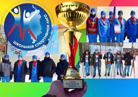 Серебро финальных соревнований по лыжным гонкам