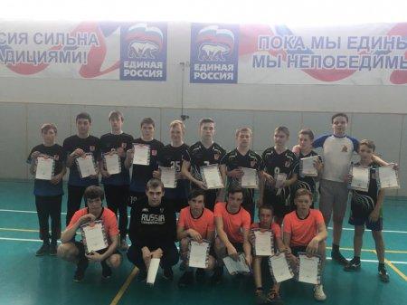 Муниципальный этап ШСЛ по мини-футболу среди юношей 2004-5 г.р.