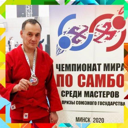Наш бронзовый призёр чемпионата мира по самбо