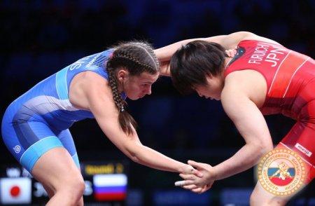 Серебро Всероссийских соревнований по спортивной борьбе