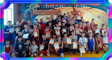 Турнир по вольной борьбе в с.Новоселово