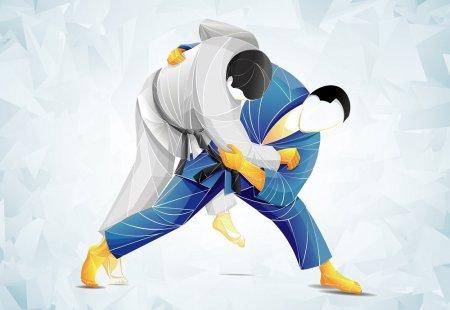 Межрайонный турнир по борьбе дзюдо