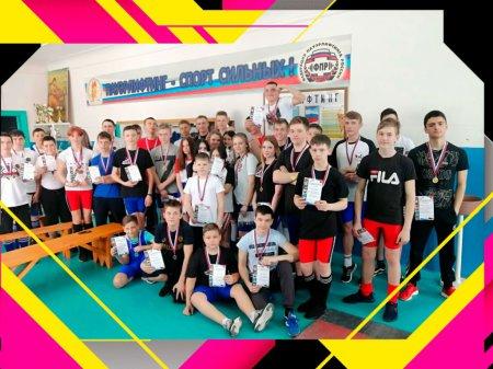 Первенство Ужурской спортивной школы по пауэрлифтингу