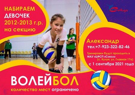 Набор на отделение волейбол