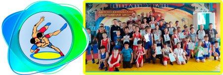 Турнир МБУ «Новоселовская спортивная школа» по вольной борьбе