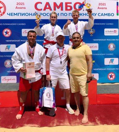 Бронзовый призёр Чемпионата России по пляжному самбо