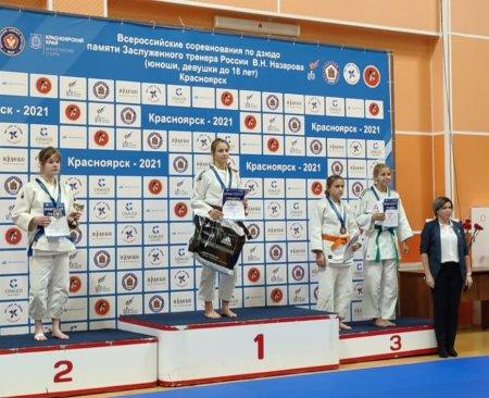 Золото Всероссийских соревнований по дзюдо